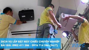 Dịch vụ lắp đặt máy chiếu tại Hà Nội chuyên nghiệp